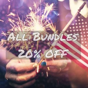 20% Off All Bundles of 2+ items